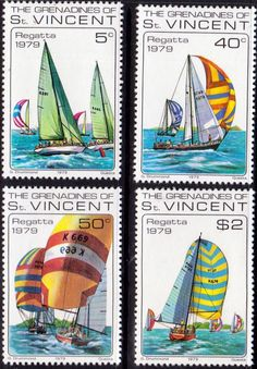 St Vincent Greadines 1979 National Regatta Set Fine Mint SG 156 9 Scott 176 9 Other British Commonwealth Empire and Colonial stamps Here