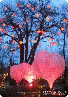 Hearts * Christmas * TIVOLI 2011 [Amusement park in the heart of Copenhagen - the Capital of Denmark]