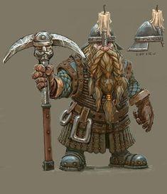 Fantasy Dwarf, Fantasy Rpg, Medieval Fantasy, Fantasy World, Vikings, Fantasy Races, Fantasy Warrior, Fantasy Portraits, Fantasy Artwork