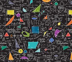 Math: Count On It! fabric by sammyk on Spoonflower - custom fabric