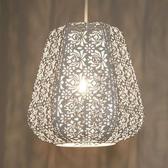 Buy John Lewis Easy-to-fit Rosanna Ceiling Pendant Shade Online at johnlewis.com Bedroom light shade.