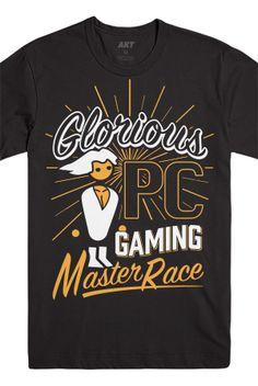 The Escapist | Merch - PC Master Race Tee (Black)