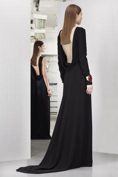 Vestido de fiesta largo Christian Dior Pre-Autumn 2013
