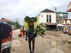 {DESPERATE TIMES} MASQUERADES ARE NOW ROBBING     - By Uduak Umo| I almost fell victim two months ago along the new Uyo-Abak dual carriage road. It was 9pm and I was on like 100 km/h heading to Abak. The street lights are powered by solar but they're pretty week in lumen and as is the case on every lit street in Nigeria some of the bulbs are dead. Hence there are dark stretches on this very road.  There was one crawling bus ahead of me and there was a dark spot just ahead of him. There was…