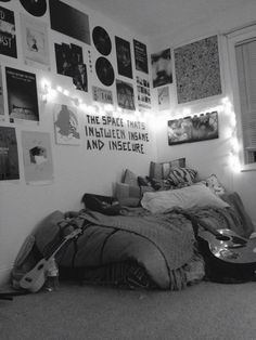 My room in my apartment #grunge #bedroom