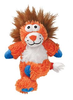 KONG Cross Knots Plush Squeaky Lion Dog Toy, Medium/Large ** Visit the image link more details. (This is an affiliate link) Le Kong, Dog Toys Amazon, Dog Toy Box, Kong Dog Toys, Lion Toys, Dog Items, Toy Sale, Dog Supplies, Best Dogs