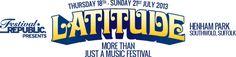 International Music festivals: The Latitude Festival, Burning Man, Ultra Music Festival & Tomorrowland Henham Park, Short Film Competition, Classy Logos, Uk Festivals, Two Door Cinema Club, Festival Logo, Event Logo, Elvis Costello, Damon Albarn