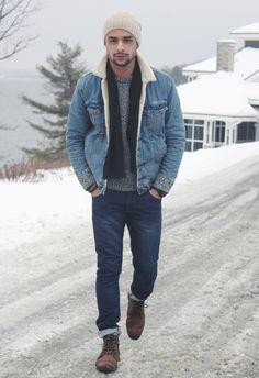 Mens Fashion - Beautiful winter outfit! www.pinterest.com/instantfashion
