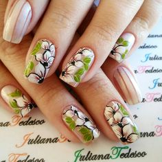 Flower Nail Designs, Nail Art Designs, Mani Pedi, Pedicure, Shoe Nails, Baby Blue Colour, Flower Nails, Flower Fashion, Spring Nails