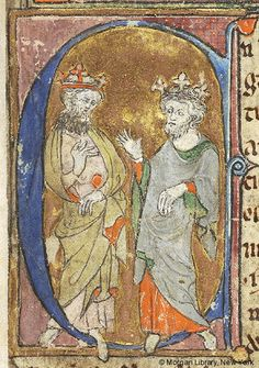 Lancelot du Lac, MS M.805 fol. 1r - Images from Medieval and Renaissance Manuscripts - The Morgan Library & Museum