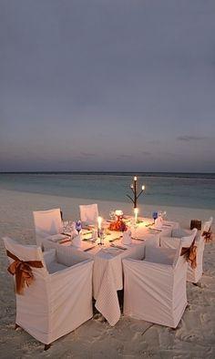 Beach Dinner, Coco Palm, Maldives