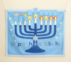 Hanukkah countdown calendar   Pottery Barn Kids
