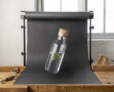 IKEA 365+ Karaf met kurk, helder glas, kurk