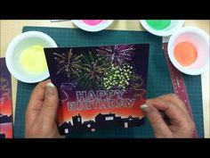 ▶ Fireworks by Flower Soft Card Making Tutorial - YouTube