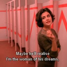 Audrey Horne :-x Film Quotes, Quote Aesthetic, Aesthetic Movies, Mood Quotes, Captions, Tv Shows, Thoughts, Feelings, Sayings