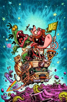 Uncle Grandpa Cover by RobbVision on DeviantArt