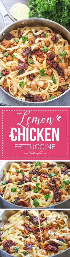 Lemon Chicken Fettuc
