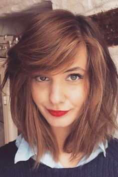 Side Bangs That Are Easy to Style ★ See more: http://lovehairstyles.com/side-bangs-easy-style/