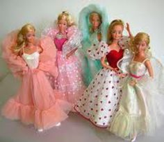 80's Barbie Dolls-I had all of these plus some more!