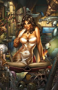 Grimm fairy tales comic