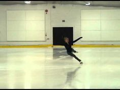 This double axel is more graceful and perfect than I've seen Olympians do!!!