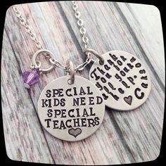 Special Education Teacher Gift, Teacher Gift, Special Education Professional Gift, Special Education Jewelry