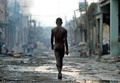 After the earthquake in Haiti by Cristobal Manuel.