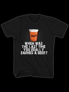 Beer Cup T-Shirt | Tough Mudder Gear.. I want!