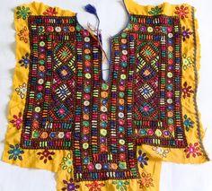Free Shipping  Indian Vintage Neck Yoke by coloursofspirit on Etsy