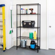 Kitchen Shelves, Kitchen Storage, Storage Organization, Organizing, Wire Shelving Units, Shelf Supports, Pot Rack, Bathroom Medicine Cabinet, Office Supplies