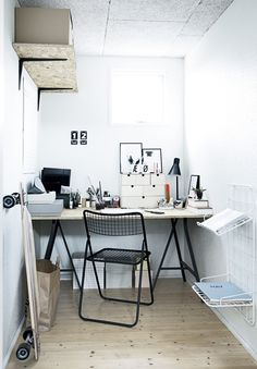 Small workspace