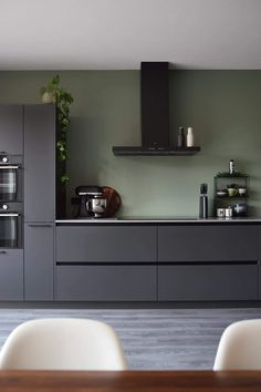 Küche Farbe grün Nanny Agencies And Their Services Article Body: Our children are the most important Kitchen Room Design, Home Decor Kitchen, Interior Design Kitchen, Kitchen Designs, Kitchen Hacks, Diy Kitchen, Interior Ideas, Black Kitchens, Home Kitchens