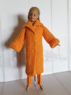 Barbie Crochet Coat Crochet Coat, Barbie, Abs, Sweaters, Dresses, Fashion, Vestidos, Moda, Crunches
