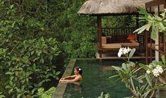 Infinity Pools at Ubud Hanging Gardens Luxury Hotel Resort in Bali Indonesia Ubud Hotels, Hotels And Resorts, Best Hotels, Luxury Hotels, Luxury Spa, Top Hotels, Ubud Resort, Resort Spa, Infinity Pools