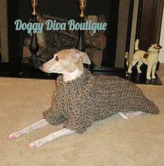 46b4f6938bb Italian Greyhound Coat - Wool Blend Italian Greyhound coat - Italian  Greyhound Sweater