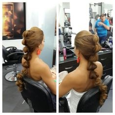 #hair #cabello #peinado #upDos #hairdresser #hairstylist #estilista #peluquero #beauty #Jazmin #aladino