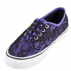 ad3c0e2d3d Vans VN-0TSV8NV U Authentic Lace Neon Violet Shoe   69.99 ! Buy now at  GetShoes.ca