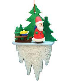 Look at this #zulilyfind! Santa Icicle Ornament #zulilyfinds