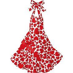 heart apron!