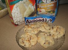 Almond Joy Cake Mix Cookies-- these are dangerous! SO good you'll want to eat them all yourself! (TLJ)