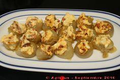 Cebollitas caramelizadas y rellenas. | La Cocina Paso a Paso