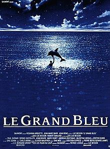 Luc Besson's The Big Blue (1988), specifically Jean-Marc Barr