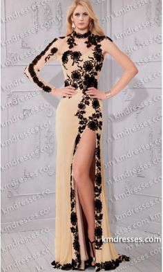 amazing sheer asymmetrical one shoulder long sleeves Lace applique formal dress.prom dresses,formal dresses,ball gown,homecoming dresses,party dress,evening dresses,sequin dresses,cocktail dresses,graduation dresses,formal gowns,prom gown,evening gown.