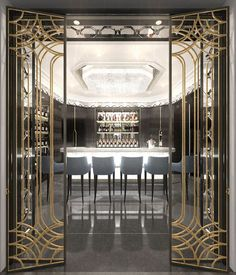 Art Deco Hotel Lobby Furniture Ideas For 2019 You are in the right place about art deco interior livingroom Here we offer you the most beautiful pictures about the art deco interio Arte Art Deco, Estilo Art Deco, Art Deco Hotel, Bar Lounge, Interiores Art Deco, Lobby Furniture, Furniture Online, Plywood Furniture, Interior Architecture