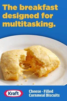 There's bound to be more than a few mornings when you're rushing out of the house. These make ahead biscuits are a quick way to get breakfast in, even on the go. They're great for the kids' commute to school, too! Banana Recipes, Waffle Recipes, Soup Recipes, Cake Recipes, Dessert Recipes, Cooking Recipes, Desserts, Make Ahead Breakfast, Breakfast Recipes