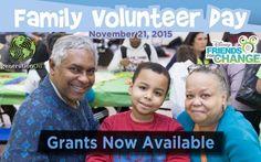Family Volunteer Day Grants