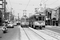 Tokyu TamaDen Line 東急玉電上通り(1969-3-  22)