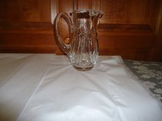 Vintage 1960's Waterford Crystal Martini Jug. Ireland.  Catalog # 410/289 #WaterfordCrystal