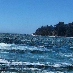 Mar revuelto en #calellapalafrugell