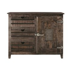 Best August Grove Finley Drawer Cabinet